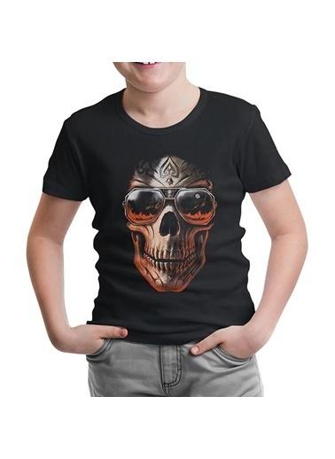Lord Tshirt Kuru Kafa Siyah Çocuk Tshirt Siyah